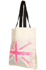 Topshop Union Jack Shopper