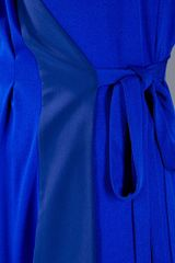 Vionnet Sleeveless Dress in Blue - Lyst