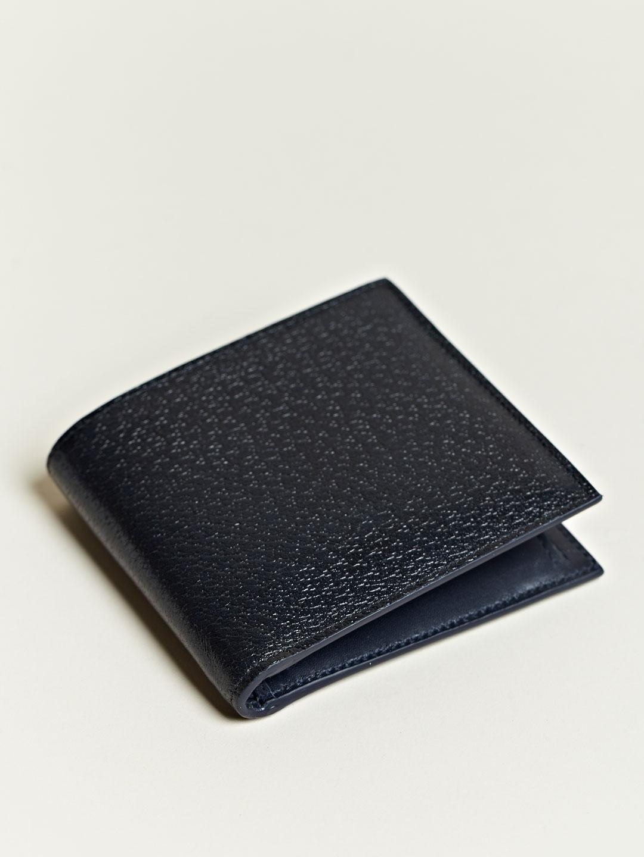 balenciaga balenciaga mens leather flip wallet in black
