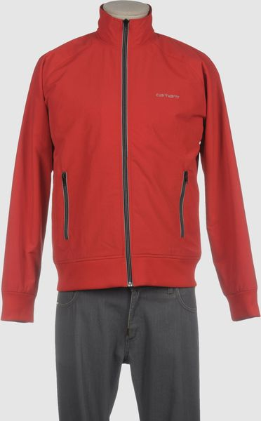 Carhartt Jacket in Blue for Men (red) - Lyst