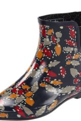 Chooka Chooka Womens Tropical Batik Boot in Blue (navy) - Lyst