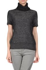 Ermanno Scervino Short Sleeve Jumper - Lyst