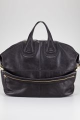 Givenchy Nightingale Zanzi Leather Bag Large - Lyst