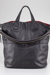 Givenchy Nightingale Waxy Leather Shopper - Lyst