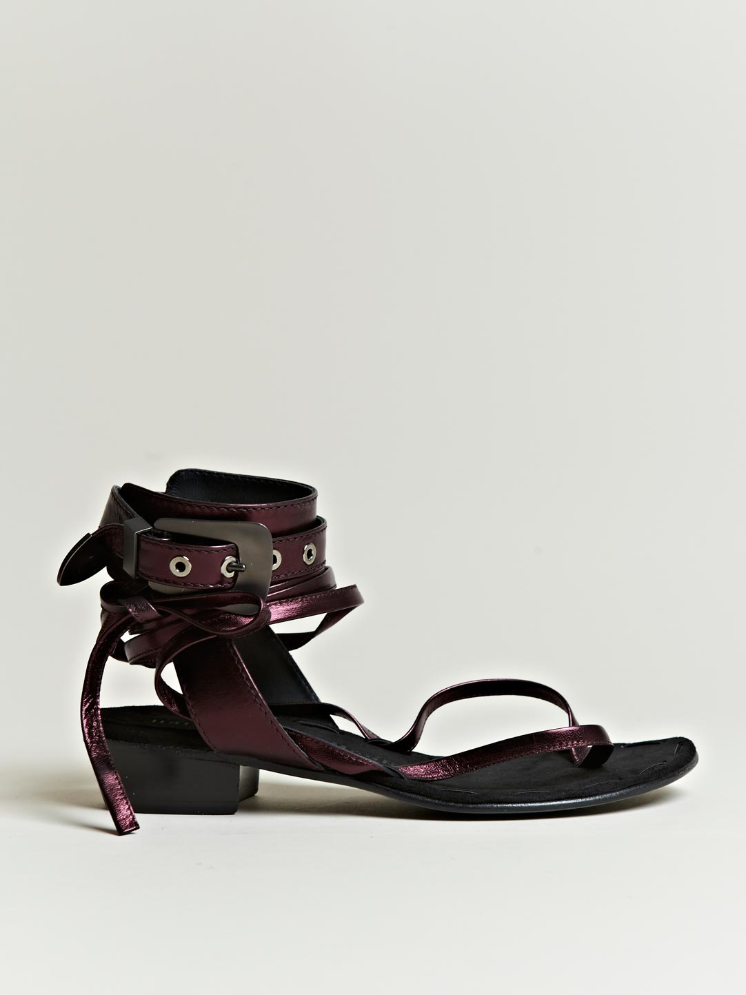 wine sandals haider ackermann haider ackermann womens iggy lem sandals 2118