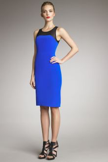 Jason Wu Meshyoke Sheath Dress - Lyst