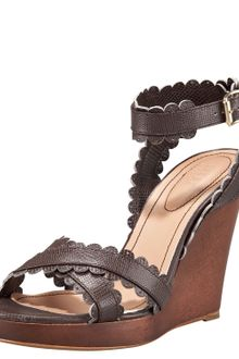 See By Chloé Scallopstrap Wedge Sandal - Lyst
