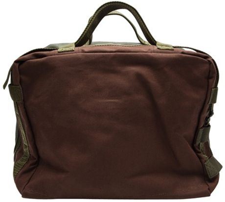 Comme Des Garçons Mini Luggage in Brown for Men - Lyst