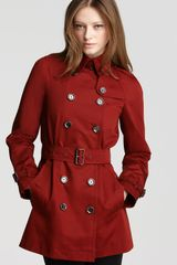 Burberry Brit Canterdale Short Trench Coat - Lyst