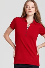 Burberry Brit Basic Polo - Lyst
