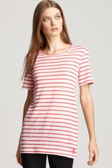 Burberry Brit Short Sleeve Stripe Shirt - Lyst