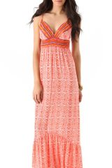 Twelfth Street by Cynthia Vincent Empire Maxi Dress - Lyst