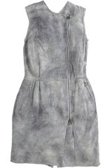 3.1 Phillip Lim Biker Romper in Gray (grey) - Lyst