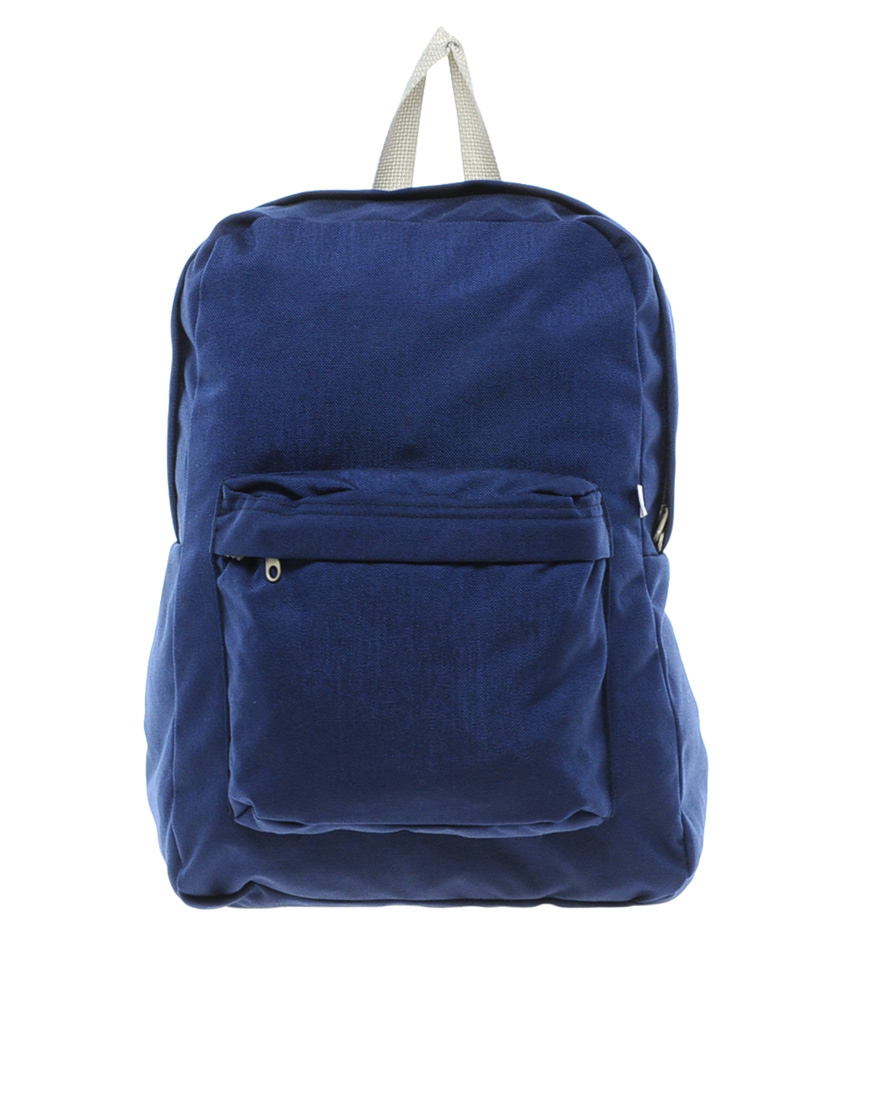 ea95c15fe1 Lyst - American Apparel Canvas Backpack in Blue
