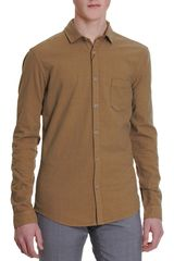 Burberry Brit Military Khaki Shirt - Lyst