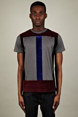 Christopher Kane  Flock Panel T-shirt - Lyst