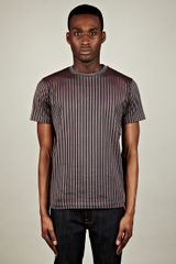 Christopher Kane Christopher Kane Security Flock Stripe Tee - Lyst