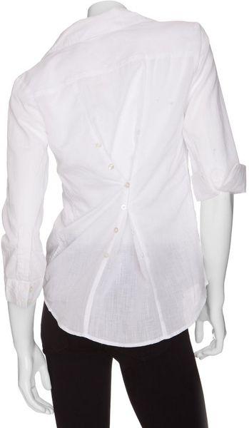 Classic White Womens Shirt