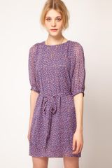 French Connection French Connection Calypso Flower Tunic Dress - Lyst