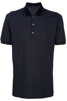 Gucci Checked Polo Shirt - Lyst