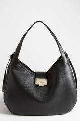 Jimmy Choo Relax Leather Hobo - Lyst