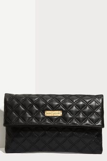 Marc Jacobs Eugenie Large Quilted Leather Clutch - Lyst