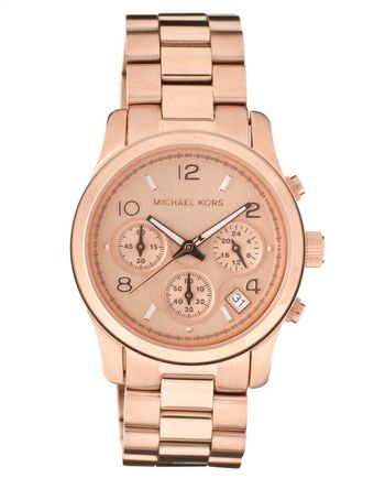 Michael Kors  Plated Chronograph Watch - Lyst