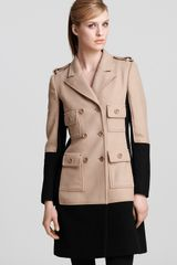 Moschino Cheap & Chic Trench Coat Double Breasted - Lyst