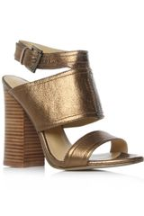 Nine West Slipin Wedges in Brown (bronze) - Lyst