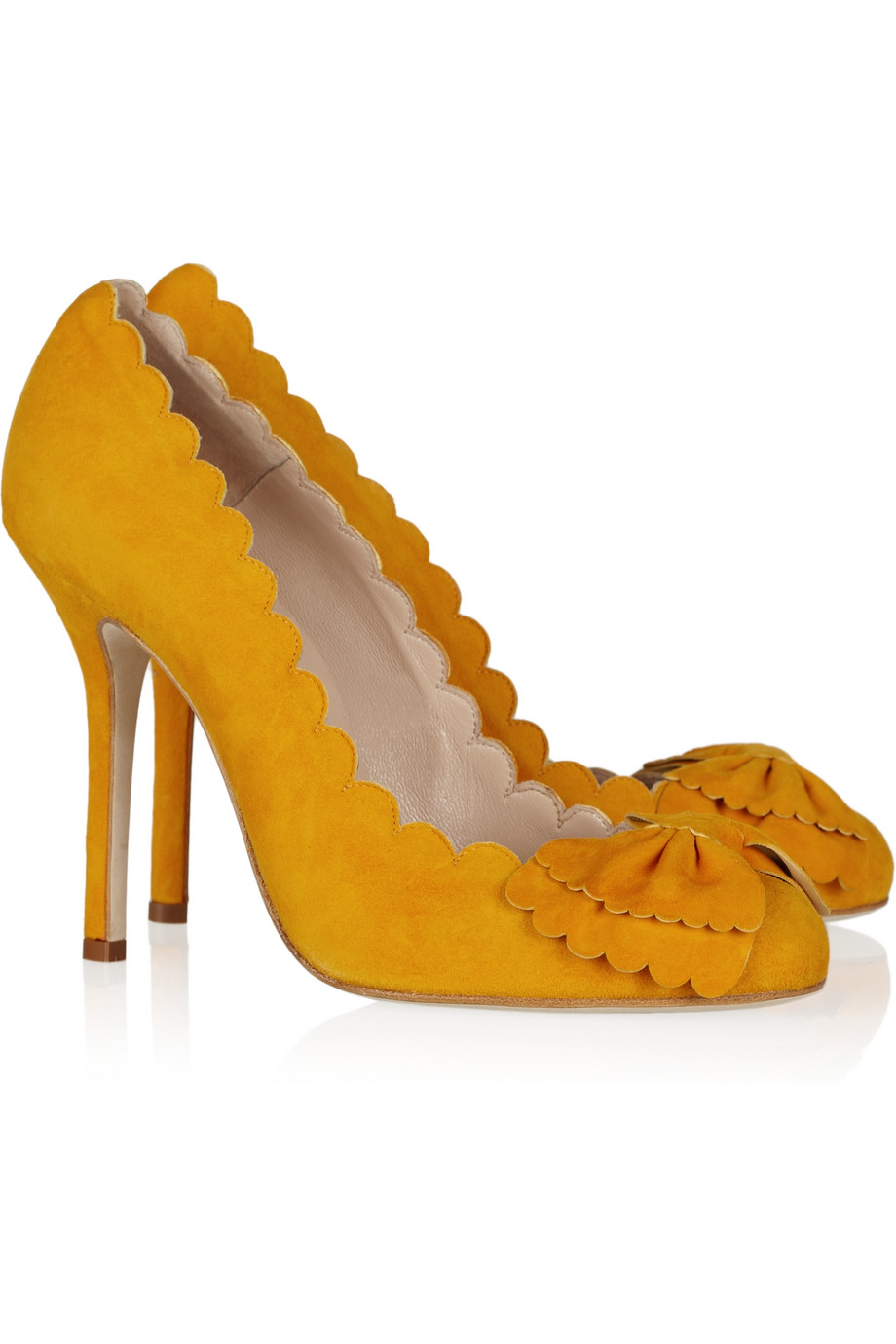 Yellow Mustard Heels - Is Heel