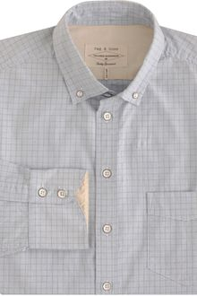 Rag & Bone Plaid Oxford Sport Shirt - Lyst