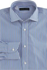 Ralph Lauren Black Label Bengal Stripe Dress Shirt - Lyst