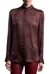 The Row Chadbury Blouse - Lyst