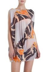Zero + Maria Cornejo Wide Shoulder Bubble Dress