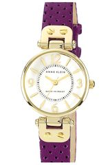 Anne Klein Colored Leather Strap Watch - Lyst