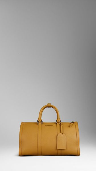 Burberry London Leather Holdall - Lyst