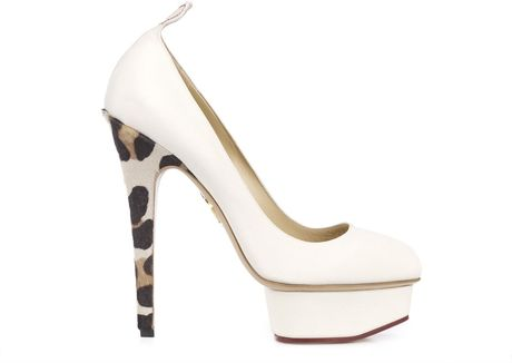 Charlotte Olympia Love Dolly in Beige (leopard) - Lyst