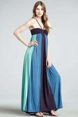 Ella Moss Skylar Colorblock Maxi Dress - Lyst
