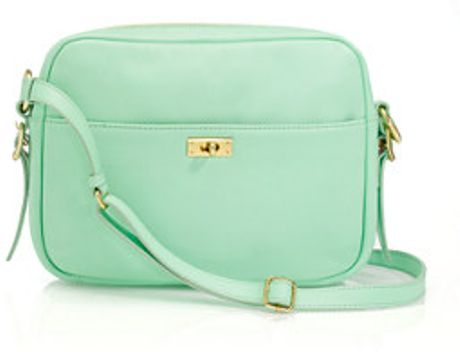 J.crew Brompton Purse in Green (bright mint) - Lyst