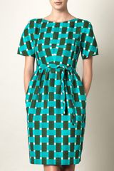 Jonathan Saunders Evelyn Cotton Dress - Lyst