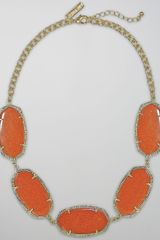 Kendra Scott Valencia Necklace - Lyst