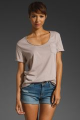 Lanston Oversized Pocket Tee - Lyst