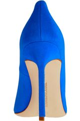 Manolo Blahnik Bb in Blue - Lyst