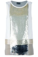 Mantu Sequin Vest Top - Lyst