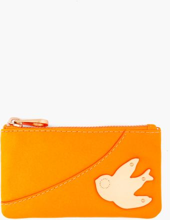 Marc By Marc Jacobs Orange Petal To The Metal Key Pouch - Lyst