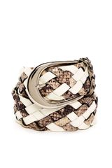 Michael by Michael Kors Braid Belt - Lyst