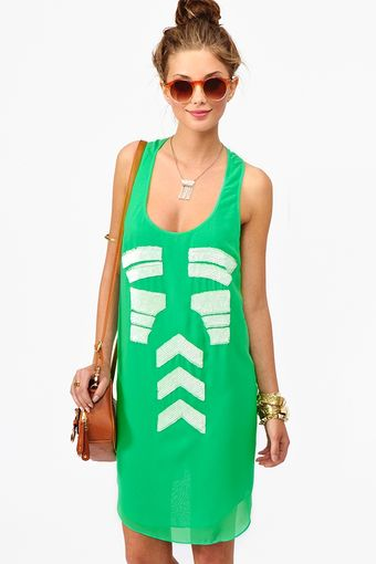 Nasty Gal Tribal Sequin Dress - Lyst