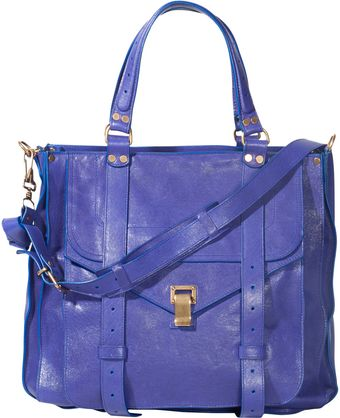 Proenza Schouler Ps1 Tote Large Leather - Lyst