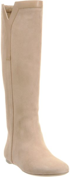 Yves Saint Laurent New Ycon Boot in Beige (taupe) - Lyst