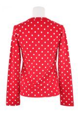Comme Des Garçons Polka Dot Teeshirt in Cotton in Blue for Men (red) - Lyst
